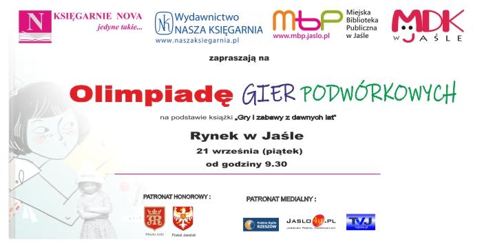 Olimpiada Gier Podwórkowych w Jaśle