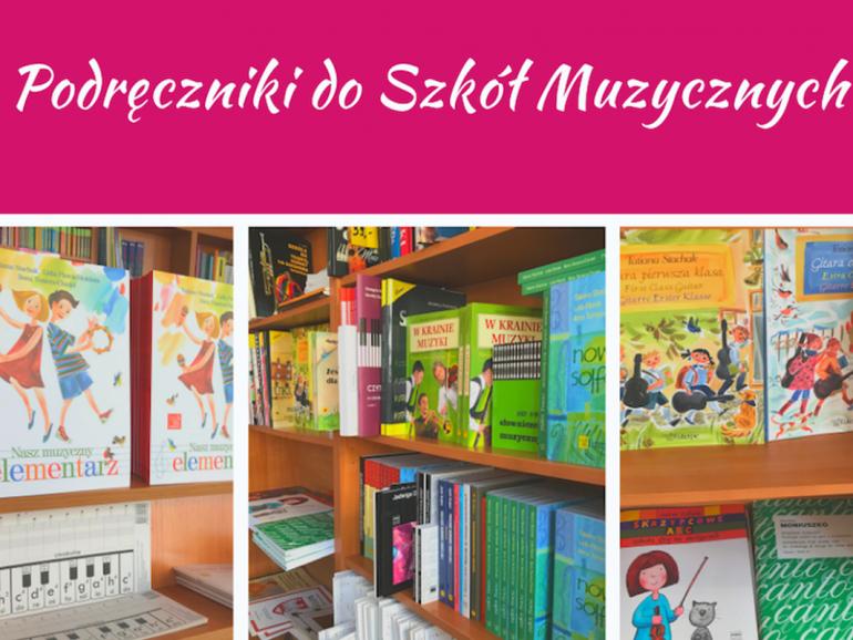 Podręczniki do szkół muzycznych w Księgarnie Nova