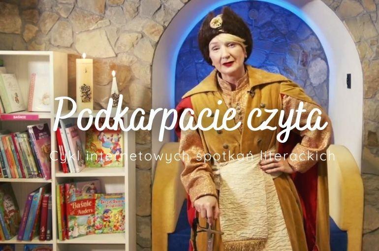 """Podkarpacie czyta! Retransmisja warsztatów dla dzieci """"Legenda Diabła Łańcuckiego"""""""